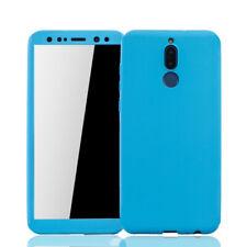 Huawei Mate 10 Lite Custodia Cover per Cellulare Protettiva Vetro Pellicola Blu