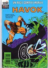 HAVOK (SEMIC COLLECTION  RECIT COMPLET MARVEL 1989 RARE TBE
