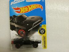 HOT WHEELS 2017 004/365 LC  FAST AND FURIOUS '70 DODGE CHARGER LONG CARD