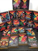 Vintage Lot 21 Magnavox Odyssey 2 Game Cartridges W/ Box & Booklet 1970s Era