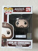 AGUILAR (CROUCHING) FUNKO POP 379 LOOT CRATE EXCLUSIVE ASSASSIN'S CREED RARE