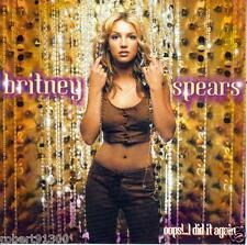 CD audio.../...BRITNEY SPEARS.../...OOPS !... I DID IT AGAIN......