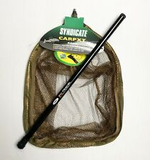 "Dinsmores 18"" Syndicate Carp XT Rigid Landing Net with 2m NGT Landing Net Handle"