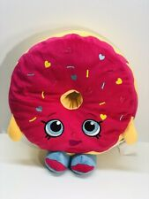 "SHOPKINS 14"" Tall PINK D'LISH DONUT SPRINKLES PLUSH STUFFED DOLL ANIMAL TOY"