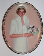 "Princess Diana Plate by Bradford Exchange ""Our Royal Princess"" Limited Edition 2"