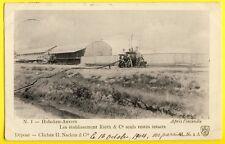 cpa 1904 BELGIQUE ANVERS HOBOKEN Etablissement RIETH & Cie POMPE à INCENDIE FIRE