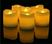 24PCS LED Lighted Flickering Votive Style Flameless Candles Holiday Party