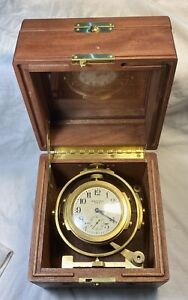 Waltham chronometer 8 days 15 jewels. Must look great collector. Does run
