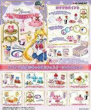 Sailor Moon Crystal  Cafe Sweets Collection , Full set of 8 Re-Ment