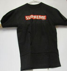 Powell Peralta SUPREME Bones Brigade T Shirt BLACK NEW XLARGE XL