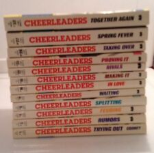 Lot 12 Cheerleader Series Paperback (1985-1987)