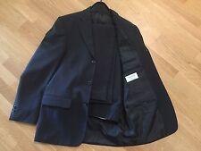 Anzug Hose Sakko schwarz blau wie neu