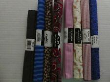 8 Fat Quarters Mixed Bundle Quilt Fabric 100% Cotton new in Pk 2.0 yd #142