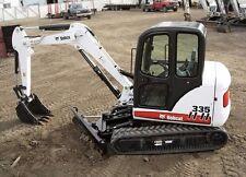 BOBCAT 335 Compact Excavator Service & Operator's Manual CD