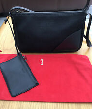Black Bally Bag And Purse Set In Fantastic Condition With Bally Dust Bag
