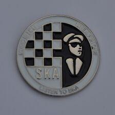 Two Tone Ska Music Is Life Quality Enamel  Pin Badge