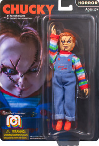 """Mego Action Figure 8"""" Chucky Doll Horror Figure Childs Play"""