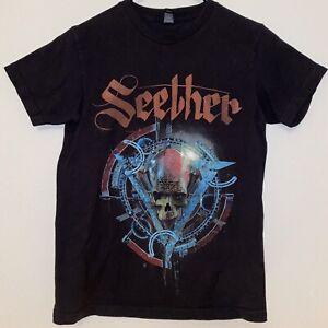 Seether Rock TShirt Metal Band Black Mens S