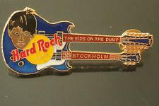 HRC HARD ROCK CAFE Stockholm Kids on the dump doubleneck guitar le300