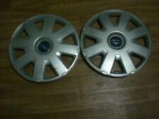 """Ford mondeo wheel trims hub caps, wheel covers, 2x, 16"""" GENUINE"""