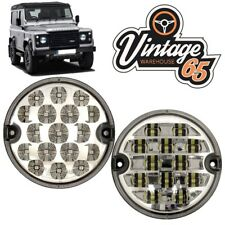 Land Rover Defender 95mm LED Clear Rear Fog Lamp Clear Reversing Light Upgrade
