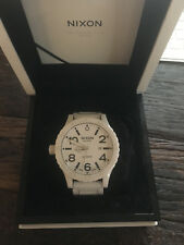 Nixon 51-30 White Ceramic Elite Swiss Automatic   |   A14712