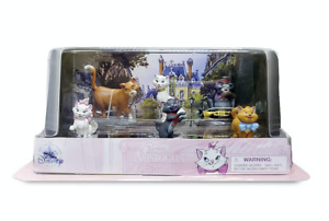 Disney 50th The Aristocats Figure Play Set Cake Topper New with Box