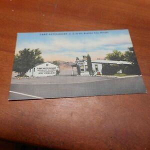 Lake Auto Court - US 93 - 466 - Boulder City, Nevada