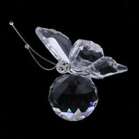 Crystal Butterfly Statue Perfect Gift For Your Families Or Friends -Clear