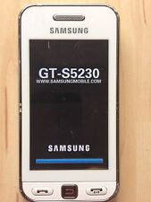 Samsung  GT- S5230 - Weiß (Ohne Simlock) Handy Mit Original Verpackung