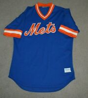Vtg New York Mets Majestic Baseball Jersey Made in USA 1980s