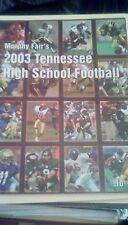 Murphy Fair's 2003 Tennessee High School Football Preview Oak Ridge Maryville