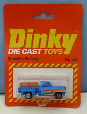 Dinky Toys (Airfix ownership) No. 110 Stepside Pick-up. Mint. Original packaging