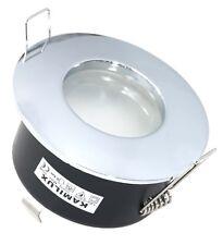 Feuchtraum Einbaustrahler AQUA K92146 IP65 chrom glänzend GU5.3 GU10 rostfrei