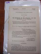 Government Report 1895 Compromise adjustment settlement US Arkansas bonds #759