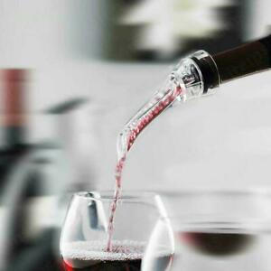 Red Wine Aerating Pourer Spout Decanter Bottle Stoper White Wine Aerator 0 N1F8