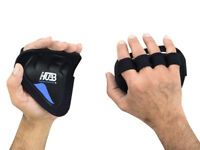 GRIP PADS WEIGHT LIFTING GYM GLOVES FITNESS STRENGTH TRAINING BODY BUILDING GRIP