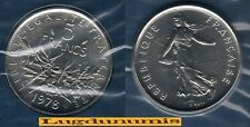 FDC - 5 Francs Semeuse 1978 FDC 24 000 Exemplaires Scéllée du coffret FDC