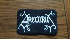 ARCTURUS,SEW ON WHITE EMBROIDERED PATCH