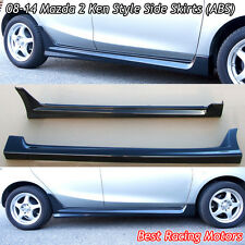 K Style Side Skirts (ABS) Fits 08-14 Mazda 2