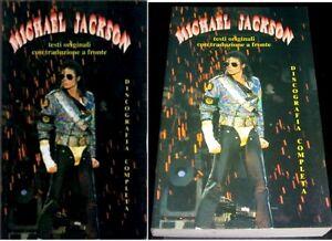 MICHAEL JACKSON Testi con Traduzione a Fronte VOLUME 288 PAGINE