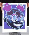 """Set of 2 Hebru Brantley """"LILAC"""" Purple & Pink signed numbered limited print set"""