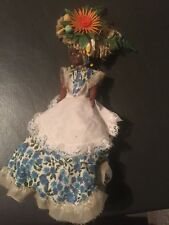 Bermuda Doll In Traditional Dress And Headdress