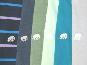 Lot of 6~ Banana Republic Short Sleeved Elephant Logo Polo Shirts Men's XXL