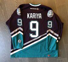 Paul Kariya Anaheim Mighty Ducks jersey Vintage Koho