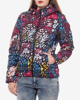 Adidas Originals Women's Slim Padded Jacket Ladies Winter Hooded Coat AY4746