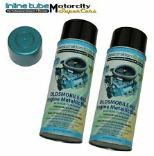 69-70-72  442 W-30 455 Factory Correct olds Blue High Heat Engine Paint 2 Cans