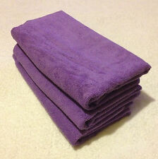 3x Microfibre Cleaning Cloth Towel Car Waxing Polishing  Large 60cm x 120cm