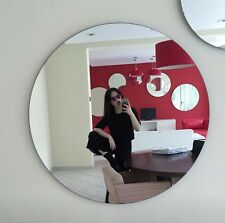 Circle Acrylic Mirror Shatter Proof  Resistant 600MM