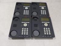 LOT OF 4 AVAYA 9620 IP PHONES W/ NO HANDSETS